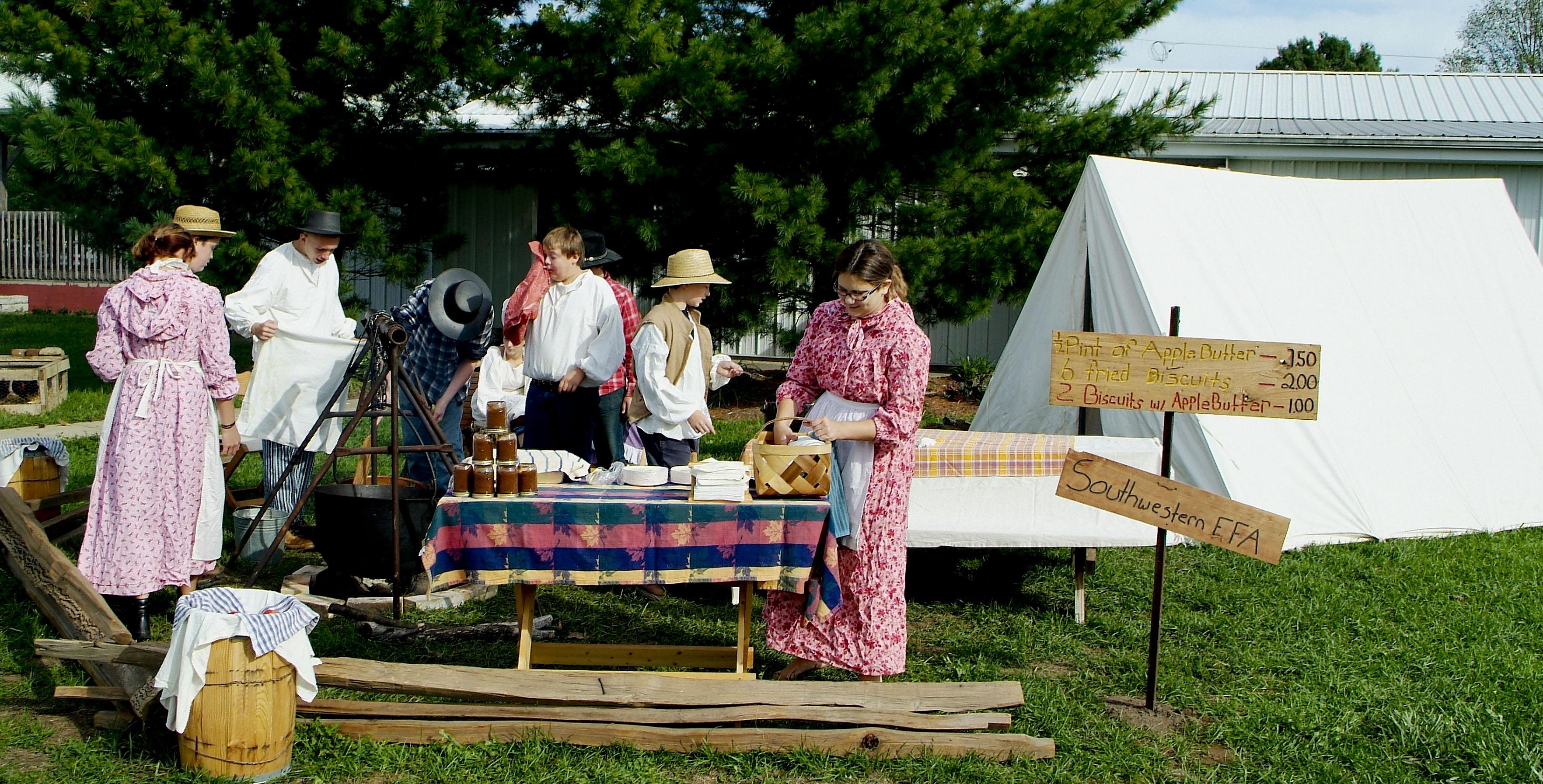 Pioneer Fair- Southwestern Students